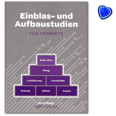 Einblas- und Aufbaustudien für Trompete - Rapp Verlag - 9990050803328