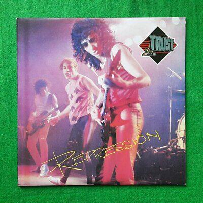 Trust - Repression (French Band) unique korea vinyl lp different label EX+toNM-