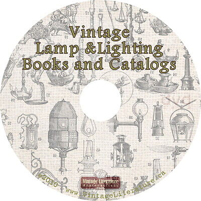 Vintage Lamp and Lighting Ideas { Catalogs and Books ~ 1890 to 1940 } on DVD