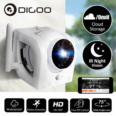 Digoo 720P Waterproof Outdoor WIFI Security IP Camera Motion Detection IR Webcam