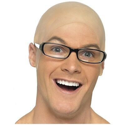 Bald Head Cap Adult Costume Accessory Fancy - Costume Bald Cap
