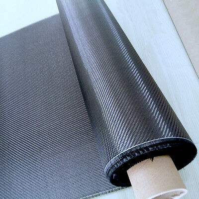 Setting Fabric 3k 2x2 Twill 200gsm Real Carbon Fiber Cloth 3282cm Width