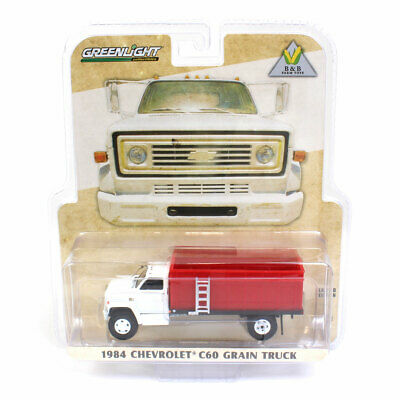 1:64 Greenlight Chevy C60 Grain Truck with White Cab 51310-C 4