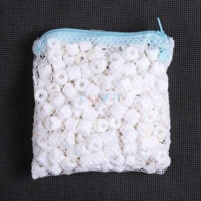 Bio Ceramic Ring 10 oz (300g) in Media Bag for aquarium fish canister (Ceramic Media)