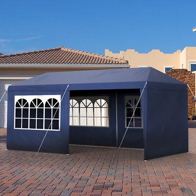 Vereinszelt 3x6m Gartenzelt Partyzelt Pavillion Camping wählbare Seitenteile UV