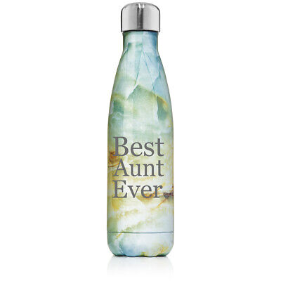 17 oz. Double Wall Insulated Stainless Steel Water Bottle Best Aunt