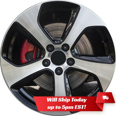 "New Set of 4 18"" Premium Alloy Wheels Rims for 2014-2020 VW Volkswagen Golf GTI"