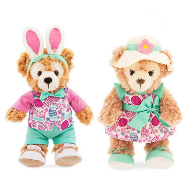 Disney Parks Duffy And ShellieMay The Disney Bear Easter Set New