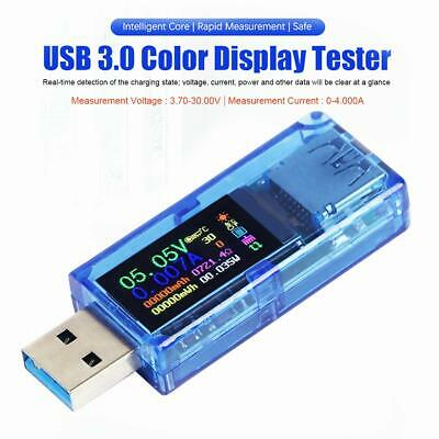 Usb 3.0 Volt Current Voltage Doctor Charger Capacity Tester Meter Power Bank
