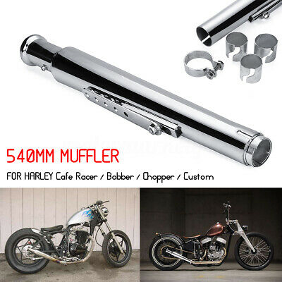 Universal Motorcycle Exhaust Muffler Pipe Reducer Cocktail Shaker Tulip