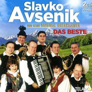 SLAVKO UND SEINE ORIGINAL OBERKRAINER AVSENIK - DAS BESTE  2 CD NEU