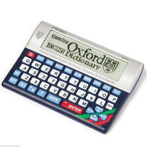 Seiko ER6700 Concise Oxford Dictionary Thesaurus Encyclopedia Games