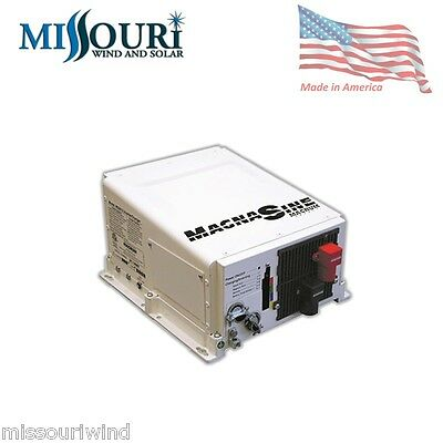 Magnum MS2812 2800W Power Inverter Charger 12 volt 125 amp Made in USA 2800w Inverter