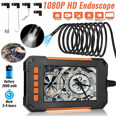 Industrial Endoscope 1080p Hd 4.3screen Borescope Inspection Snake Camera Ip67