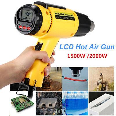 Lodestar Digital Electric Lcd Hot Air Gun Temperature-controlled Heat Gun Ic Smd