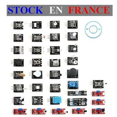 Mobile Starter Kit (Starter Set/Kit , French, Mobile, D'Lernspiel Arduino - 37 Module Sensoren)