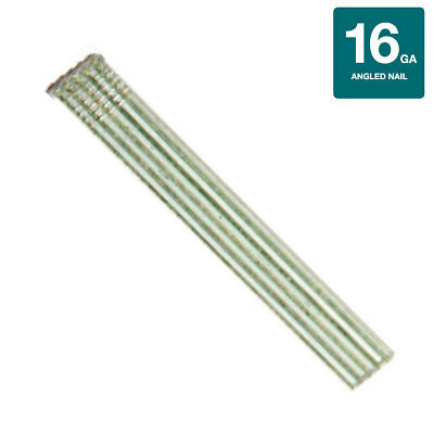 Collated Nails 16 Gauge Angled Finish Nails 304 Stainless Steel - 2000ct Box