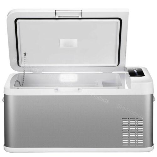Car Refrigerator 12V Fridge Cooler Portable Travel Electric Mini Freezer 25L Box