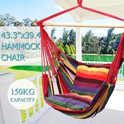 43.3 '' x39.4'' Colgante Hamaca Silla Columpio Al Aire Libre de Interior...