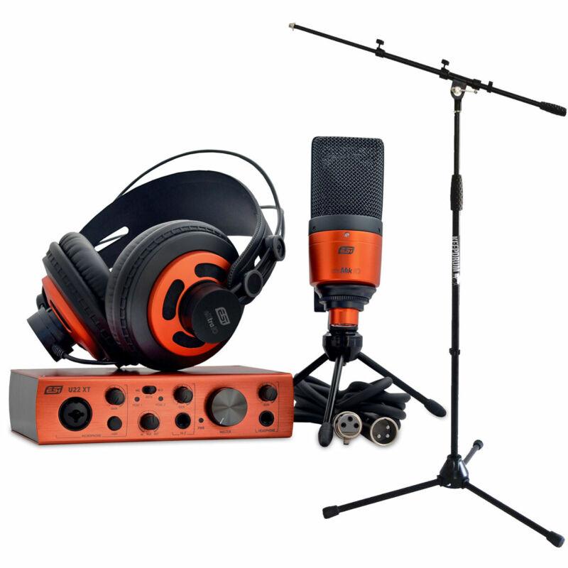 ESI U22 XT Cosmik Set Recording Set + Keepdrum Microphone Stand