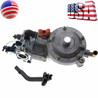 170F New Dual Fuel Carburetor GX200 LPG Conversion Kit  for Generator Propane US