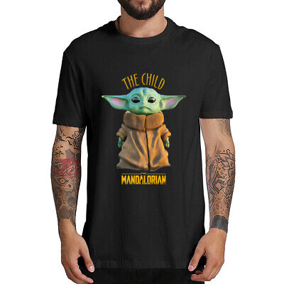 Cute Baby Yoda T-shirt Mandalorian Star Wars Fan Gift  Men's Hoodies Coat Xmas ()