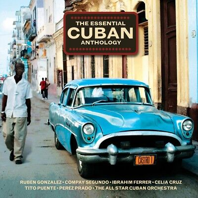 Essential Cuban Anthology VARIOUS ARTISTS Best Of 50 Songs MUSIC New Sealed 2
