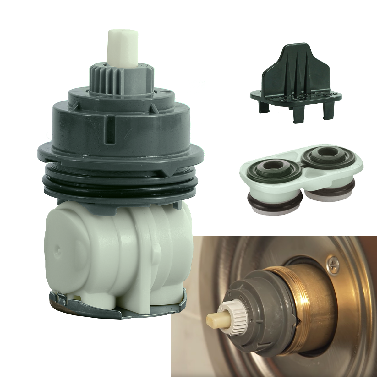 FlowRite Replacement Cartridge for Delta Monitor Shower RP46463 1700 Series Home & Garden