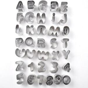 lower case alphabet cutters