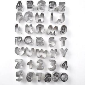 lower case alphabet cutters