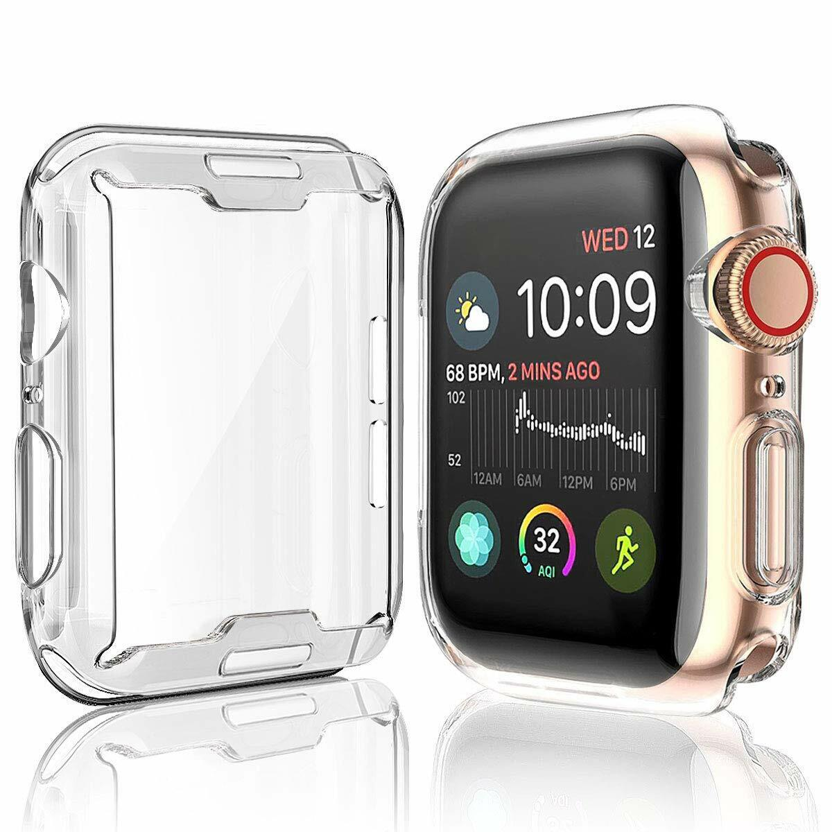 iWatch Screen Protector Cover TPU Case 40/44 mm For Apple Watch Series 5 Clear Cases, Covers & Skins