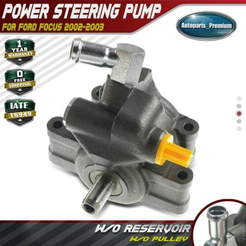 Power Steering Pump W/o Pulley For Ford Focus SVT Model L4