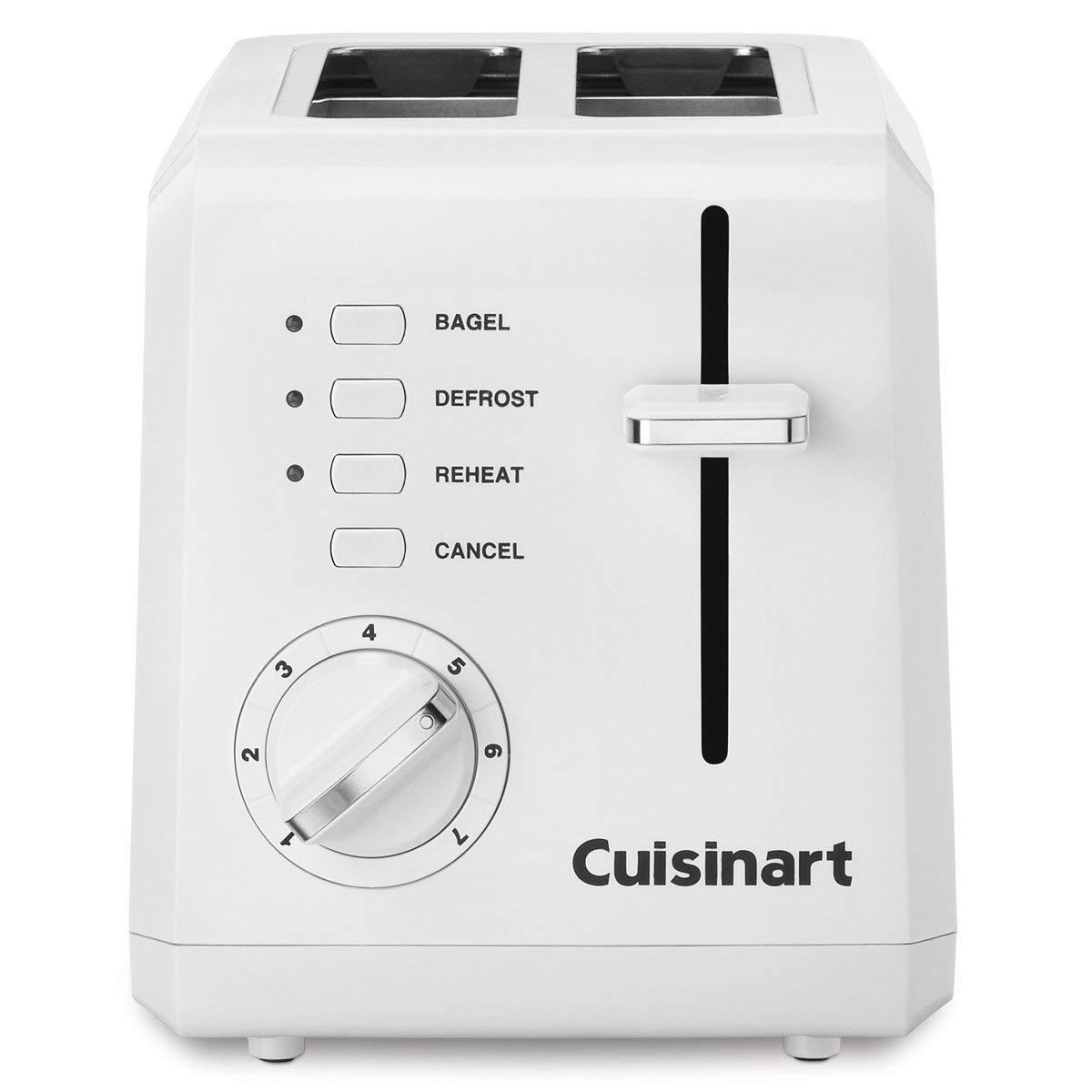 100% GENUINE!!! Cuisinart CPT-122 2-Slice Compact Plastic To
