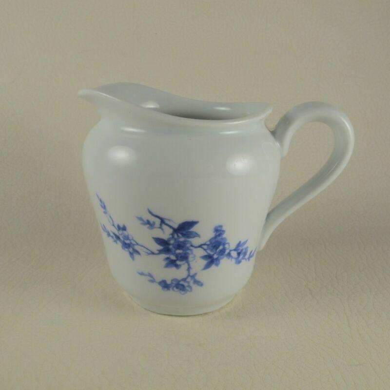 HOTEL RITZ PARIS by HAVILAND Limoges Porcelain Small Creamer Blue Floral