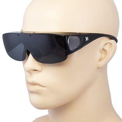 Polarisierte Sonnenbrillen Hülle Put Kleidung Passend über Rezept Brille Fahren