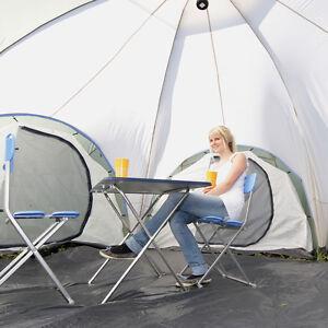 skandika Korsika 8 Personen Camping/Familienzelt 3 Kabinen Moskitonetze Neu
