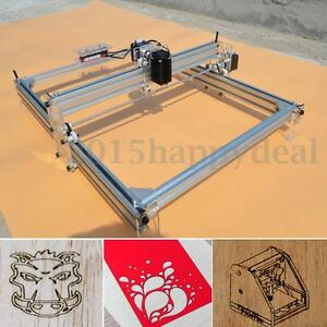 40x50CM 500MW Laser Engraver Engraving Cutting Machine Logo Marking Printer DIY