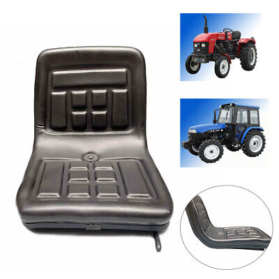 Forklift Tractor Seat With Back Rest Universal Replacement For Excavator Loader