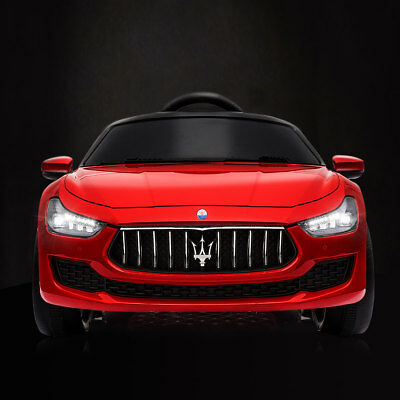 12V Kids Ride On Car Maserati License with MP3 & Remote Control Kids Car Red