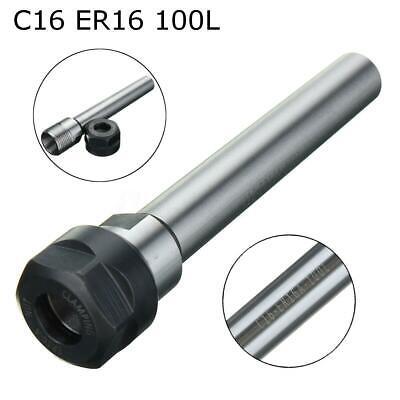 C16 Er16 100l Straight Shank Collet Chuck Holder For Cnc Milling Toolholder