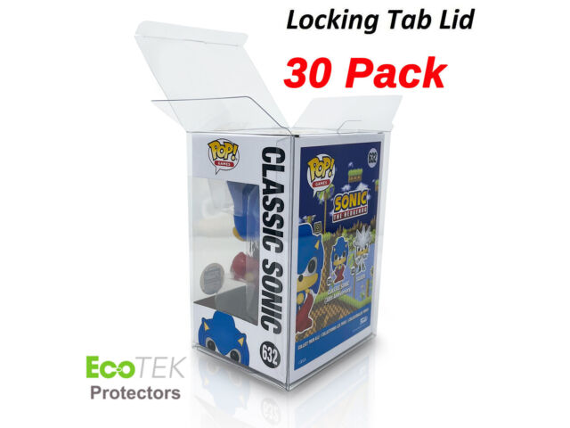 """30 Funko POP Acid-Free Crystal Clear Strong Protector case For 4"""" Vinyls Figures"""