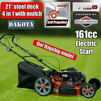"NEW 21"" Lawnmower Briggs & Stratton Self Propelled Electric Start"