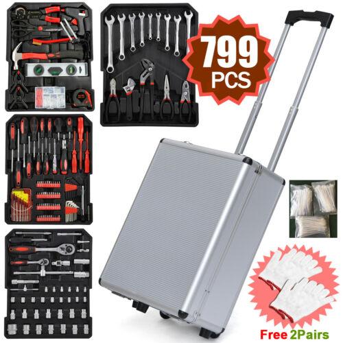 799 Rolling Tool Box Mechanic Craftsman Tool Set Kit Organiz