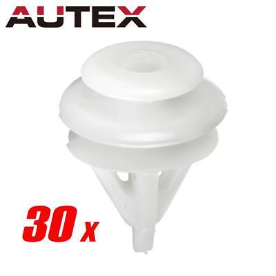 - 30 pcs Trim Panel Seat Back Cover Fastener Retainer Clips for Acura Honda Civic