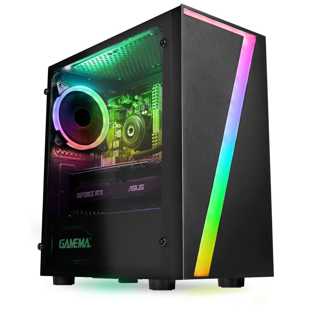 Computer Games - Fast Gaming PC Computer Bundle Intel Quad Core i5 8GB 1TB Win10 4GB GTX1050Ti