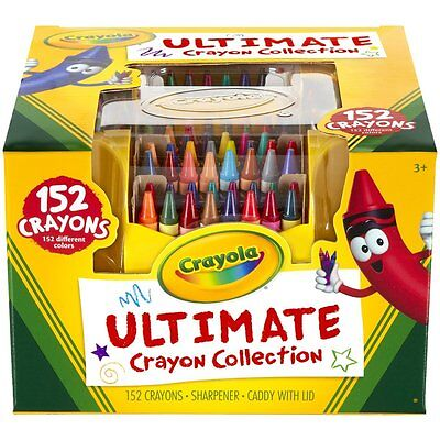 Crayola Ultimate Crayon Case, 152-Crayons , New, Free Shipping