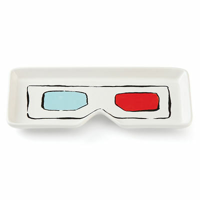kate spade new york All in Good Taste Pop By 3D Glasses Oblong Tray - Set of 2