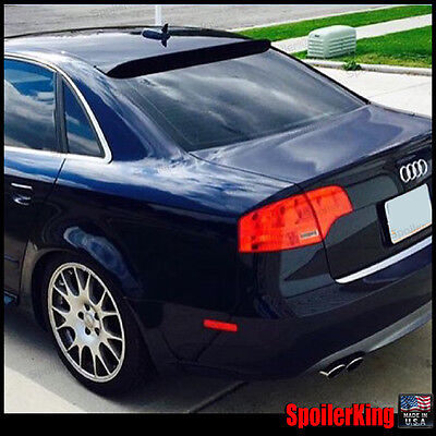 Fits: Audi A4 2006-08 b7 244R Rear Roof Window Spoiler Made in USA Unpainted