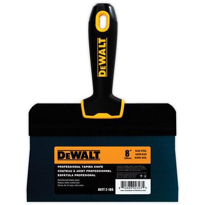 Dewalt Taping Knife 8 Premium Blue Steel Big Back Drywall Taping Tool