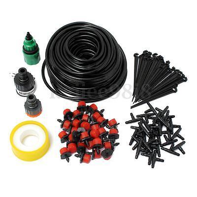 25m Mikro Drip Bewässerungssystem Automatisch Pflanze Bewässerung+30 Tropfer Set